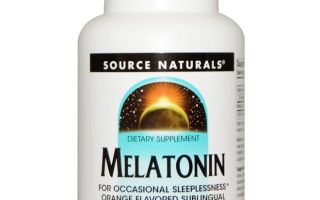 Melatonin Source Natural