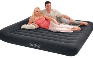 [Рейтинг] ТОП- 14 лучших надувных матрасов Intex на любой случай