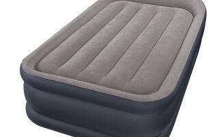 Обзор надувного матраса Intex Deluxe Pillow Rest Raised Bed 64132