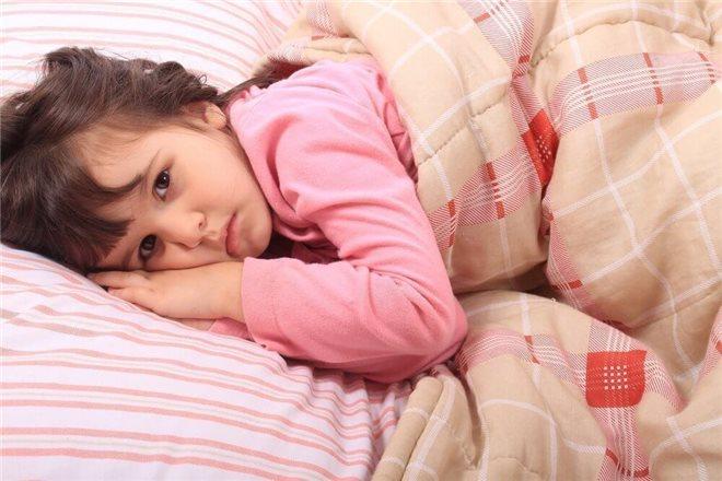 Причины нарушения сна у дошколят