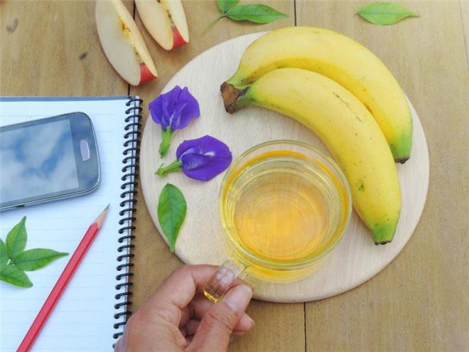Банановый чай от бессонницы
