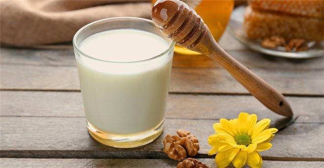 Молоко+мед — расслабляющая смесь