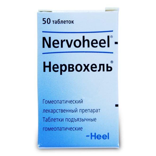 Нервохель продается в форме таблеток